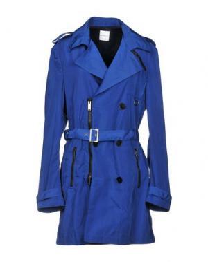 Легкое пальто C'N'C' COSTUME NATIONAL. Цвет: синий