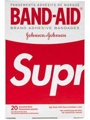 Комплект пластырей Band-Aid Supreme. Цвет: красный