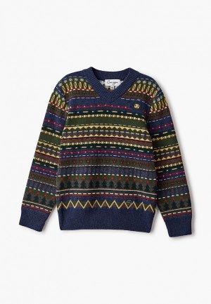Пуловер Снег Идёт. Цвет: разноцветный