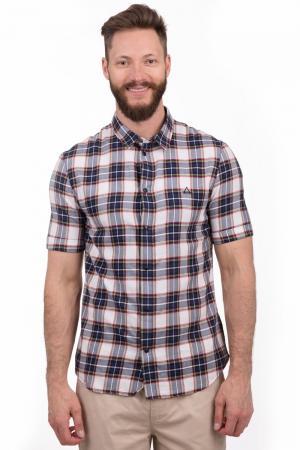 Мужские рубашки с коротким рукавом Eleven Paris. Цвет: разноцветный