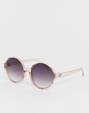 Круглые солнцезащитные очки oversize -Золотой AJ Morgan