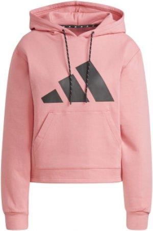 Худи женская adidas, размер 48-50 Adidas. Цвет: розовый