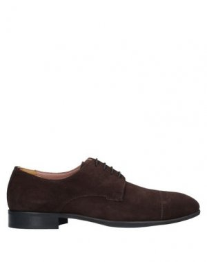 Обувь на шнурках BRUNO MAGLI. Цвет: темно-коричневый