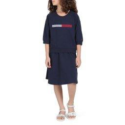 Платье KG0KG04494 темно-синий TOMMY HILFIGER