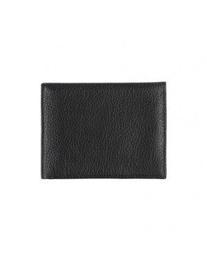 Бумажник OSKLEN. Цвет: черный