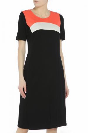 Платье FRANK WALDER. Цвет: черный