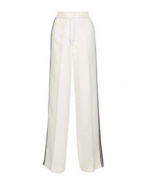 Повседневные брюки DEREK LAM. Цвет: белый