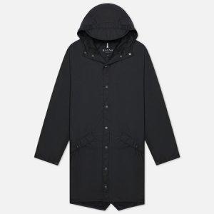 Мужская куртка дождевик Long Jacket Rains. Цвет: чёрный