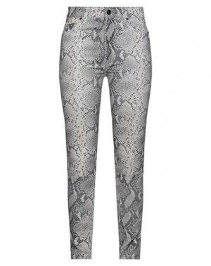 Повседневные брюки HUDSON. Цвет: серый