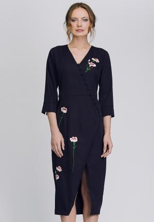 Платье Cavo. Цвет: фиолетовый