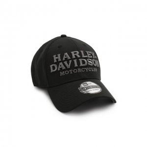 Бейсболка Genuine Motorclothes Harley-Davidson. Цвет: чёрный