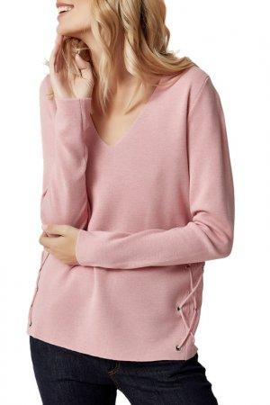 Пуловер MANODE. Цвет: розовый
