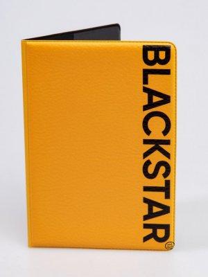 Обложка на паспорт BLACK STAR Wear. Цвет: оранжевый