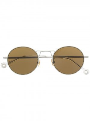 Солнцезащитные очки Resist Etudes. Цвет: серый