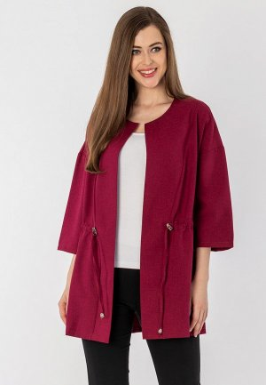 Жакет S&A Style. Цвет: бордовый