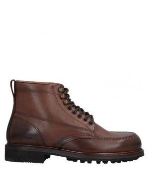 Полусапоги и высокие ботинки TOM FORD. Цвет: какао