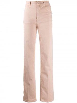 Расклешенные джинсы с завышенной талией Laneus. Цвет: нейтральные цвета