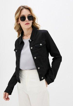 Куртка джинсовая Please. Цвет: черный