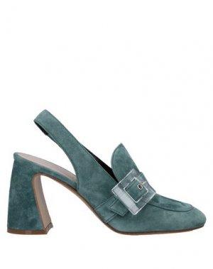 Туфли PREMIATA. Цвет: зеленый