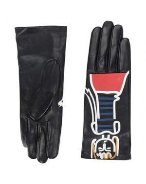Перчатки AGNELLE. Цвет: черный