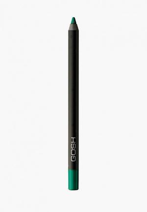 Карандаш для глаз Gosh Velvet Touch, водостойкий, 1,2 г, 026. Цвет: зеленый