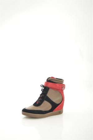 Кеды Armani Jeans. Цвет: разноцветный