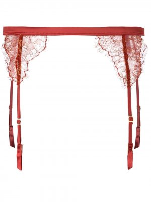 Пояс для чулок Jardin Imperial Maison Close. Цвет: красный