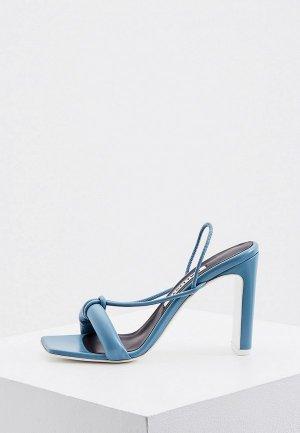Босоножки Kalliste. Цвет: голубой