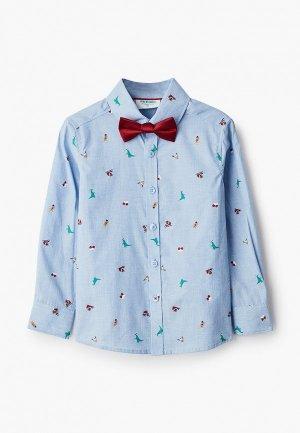 Рубашка Acoola. Цвет: голубой