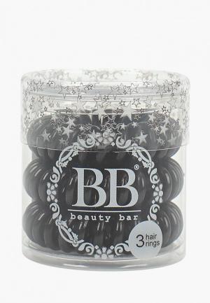 Резинка Beauty Bar Черный. Цвет: черный