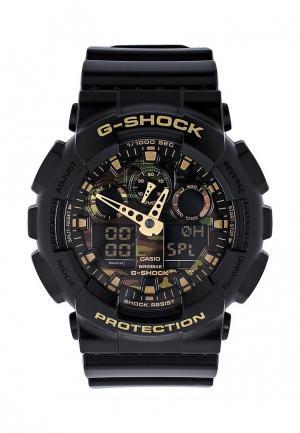 Часы Casio G-SHOCK GA-100CF-1A9. Цвет: черный