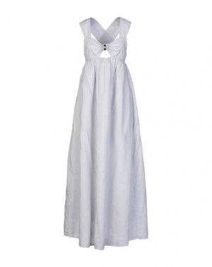 Длинное платье MARYSIA. Цвет: светло-серый