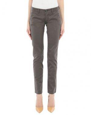 Повседневные брюки CAMOUFLAGE AR AND J.. Цвет: темно-коричневый