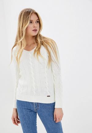Пуловер Jimmy Sanders. Цвет: белый
