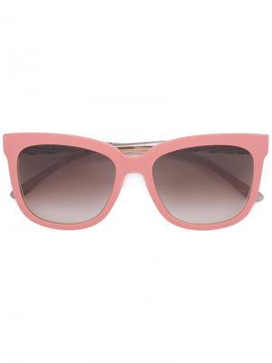 Солнцезащитные очки в оправе кошачий глаз Boss Hugo