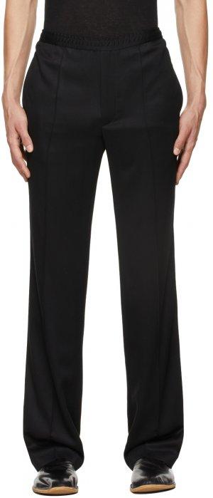 Black Pajama Trousers Haider Ackermann. Цвет: black