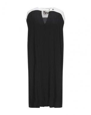 Платье миди 8PM. Цвет: черный