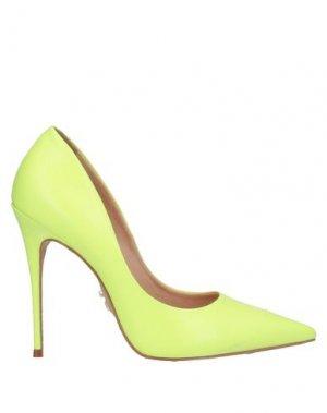 Туфли CARRANO. Цвет: кислотно-зеленый