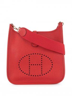 Сумка на плечо Evelyne PM Hermès. Цвет: красный
