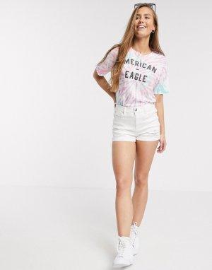 Белые джинсовые шорты -Белый American Eagle