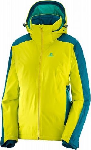 Куртка утепленная женская Brilliant, размер 54 Salomon. Цвет: желтый