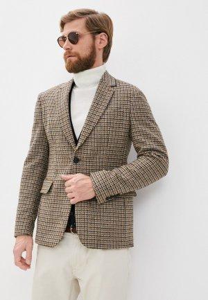 Пиджак Sandro. Цвет: коричневый