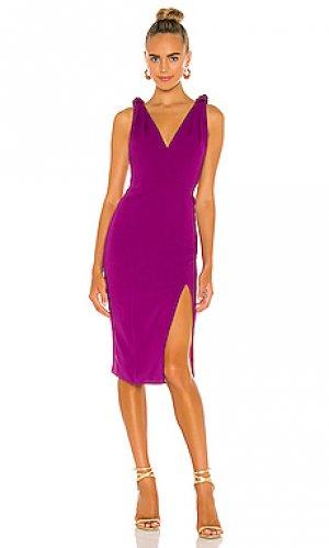 Платье violet Jay Godfrey. Цвет: фиолетовый