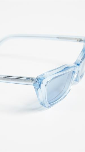 Transparent Sunglasses Balenciaga