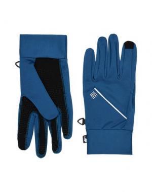 Перчатки COLUMBIA. Цвет: темно-синий