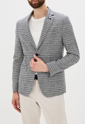 Пиджак Tommy Hilfiger Tailored. Цвет: серый