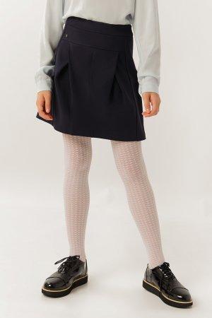 Юбка для девочки Finn-Flare. Цвет: темно-синий