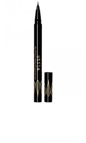 Жидкий карандаш для подводки век stay all day waterproof liquid eye liner micro tip Stila. Цвет: beauty: na