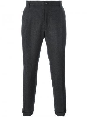 Классические брюки-чинос Etro. Цвет: чёрный
