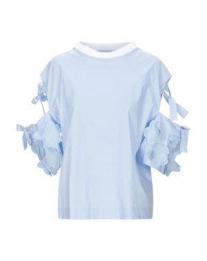 Блузка ANDREA TURCHI. Цвет: небесно-голубой